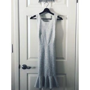 ※ Grey Peplum Dress ※